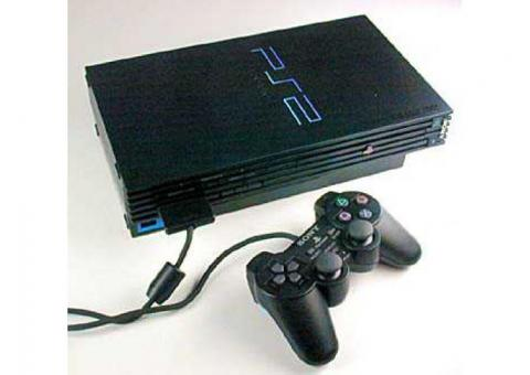 Playstation 2 With 5free  Games for sale