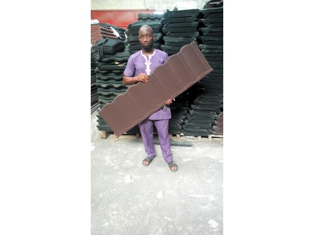 DNL stone coated roofing sheetg in lagos 07062764235